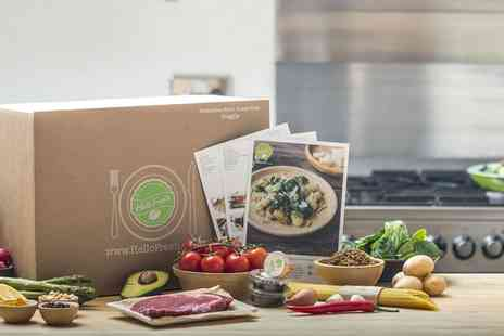 HelloFresh - Food and Recipe Boxes Up to Two Week Discount for Family or Classic Recipe Box Subscription - Save 66%