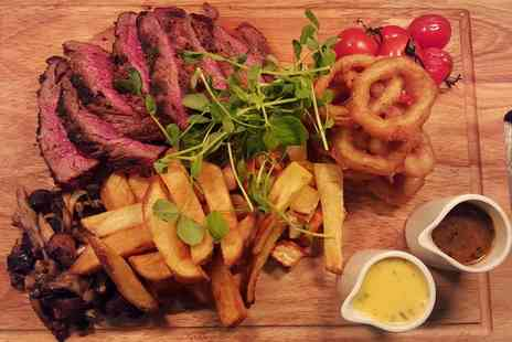 Blackwoods Bar and Grill - Chateaubriand Steak or a Six Bone Rack of Lamb with Fizz for Two  - Save 0%