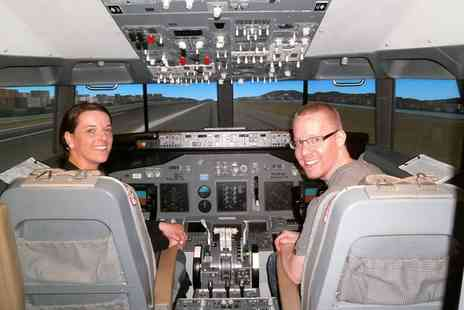 Fly A Flight - Boeing 737 Simulator Experience with Up to One Hour of Flight Time  - Save 36%