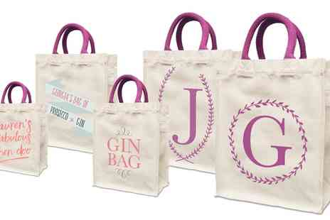 Prints With Feelings - Personalised Shopping Bag - Save 50%
