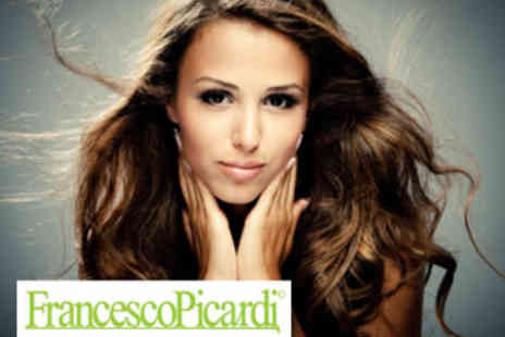 Francesco Picardi - Luxury Hair Package with Champagne - Save 63%