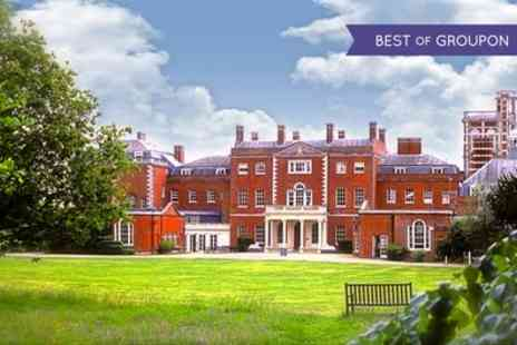 Theobalds Park Hotel - One Night Stay For Two With Breakfast With Option For Dinner and Wine  - Save 0%