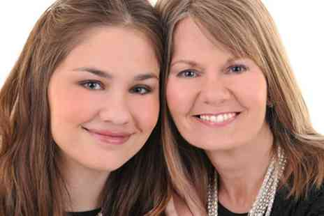 Images Unlimited - Mother and Daughter Makeover Photoshoot with Prints  - Save 95%