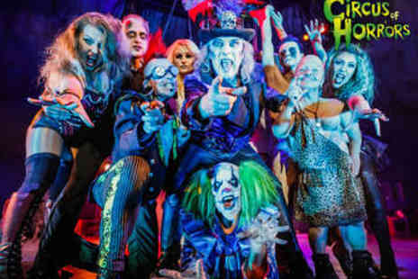 The Circus of Horrors - The Circus of Horrors Ticket - Save 55%