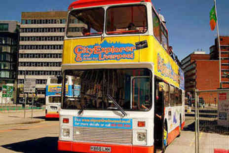 City Explorer - Hop On Hop Off Liverpool Sightseeing Tour for Five - Save 57%