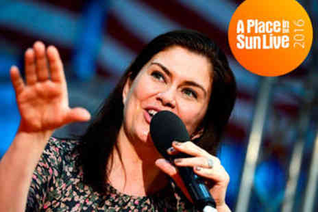 A Place In The Sun - The Sun Live Two Tickets  - Save 40%