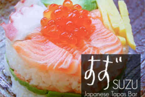 Suzu - Japanese Meal for Two plus Wine or Beer - Save 62%