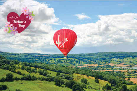 Virgin Balloon Flights -  Anytime Plus hot air balloon experience with Champagne for one   - Save 50%