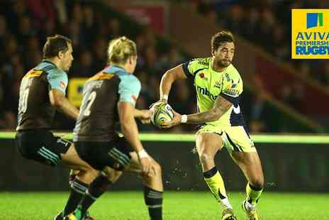 Sale Sharks - Aviva Premiership Rugby Tickets Sharks v Harlequins at AJ Bell Stadium 5 March - Save 50%