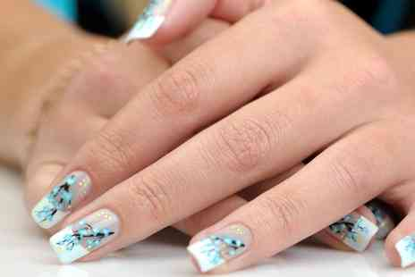 New U Laser Clinic - Full Set of Acrylic Nails with Optional Shellac Overlay and Designs - Save 0%