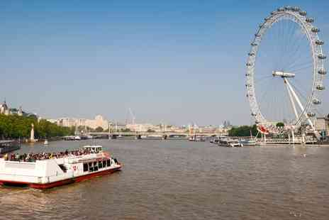 London Party Boats - Thames Cruise with Cream Tea for One  - Save 22%