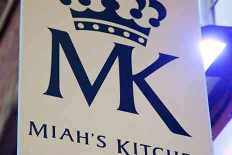 Miahs Kitchen - Two Course Indian Meal with Papadums and a Tray of Pickles to Share for Two or Four  - Save 54%