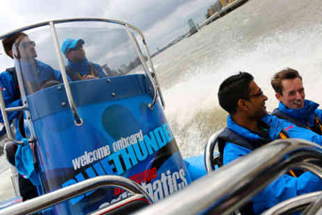 Marco Pierre White - Thames Jet Boat Rush and Three Course Meal for Two  - Save 0%