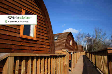 The National Diving & Activity Centre - One or Two Nights stay glamping for two including Prosecco and chocolates - Save 38%