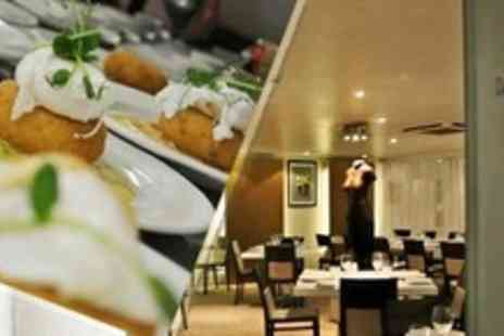 Design House Restaurant - Two Courses of Modern European Fare For Two With Wine - Save 59%