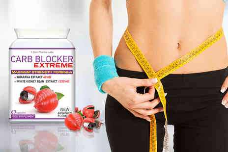 Slim Pharma Labs - One month supply of  Carb Blocker Extreme capsules - Save 80%