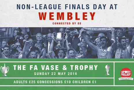 The FA - FA Non League Finals Day Ticket On 22 May - Save 90%