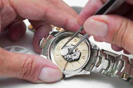 Dr Jones Watch Repairs - £20 or £40 Toward Watch Battery Replacement or Maintenance Services - Save 50%