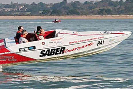 Saber Powersports - 1.5 Hour Powerboat Taster Experience - Save 71%