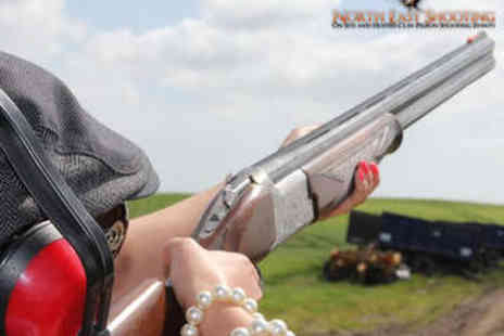 North East Shooting - Clay Pigeon Shooting Experience - Save 0%