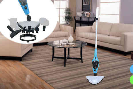 lolbargain limited - 11 in 1 Multifunctional Steam Mop in 2 Colours - Save 73%