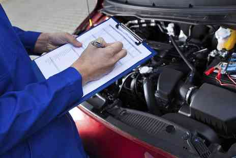 Trade Motors Direct - 52 Point Car Service with Oil and Filter Change or 52 Point Van Service - Save 77%