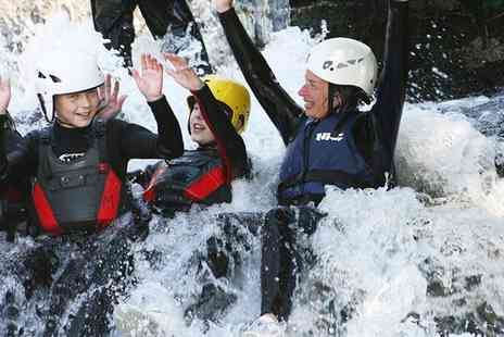 Canyon Wales - Canyoning Taster For One or Two - Save 62%