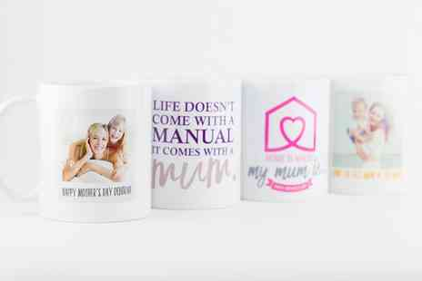 PPrints With Feelings - Personalised Mothers Day Mug - Save 65%