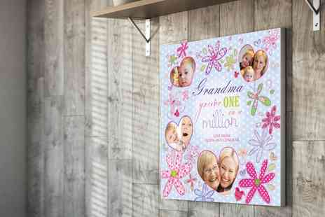 You Frame UK - Personalised Mothers Day Montage Canvas - Save 69%