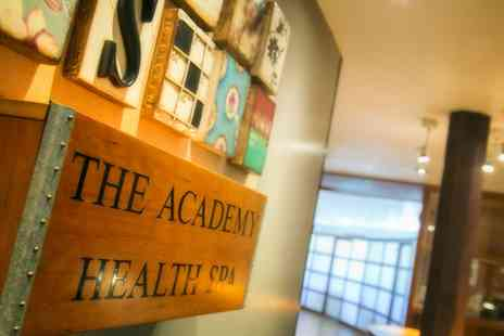 The Academy - Spa Day with Two Treatments, Robe Hire and Access to the Health Club for One or Two - Save 47%