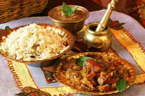 Spice Mystery - Two Course Indian Meal for Two or Four - Save 59%