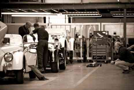 Morgan Motor Company - Morgan Motor Company Factory Tour for Two - Save 0%