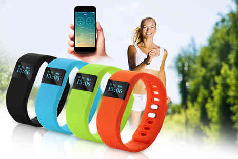 Covered Buckles - Smart Bluetooth fitness bracelet  - Save 75%