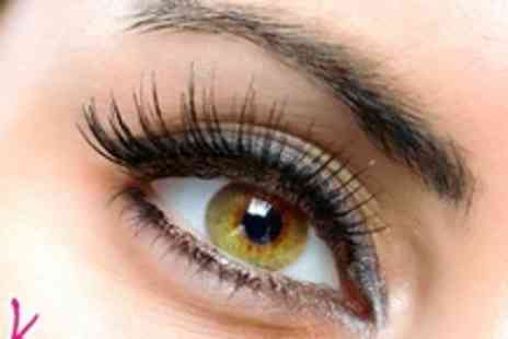 Pink Crust - Set of semi permanent eyelash extensions - Save 63%