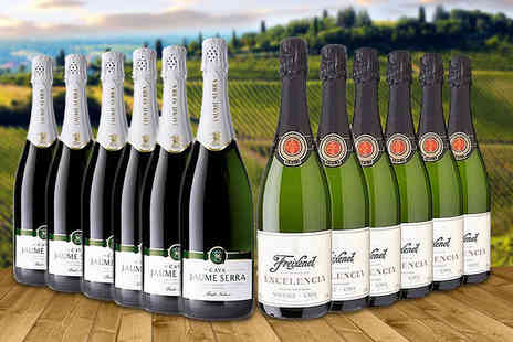 Gourmentum - 12 bottle case of Cava - Save 44%