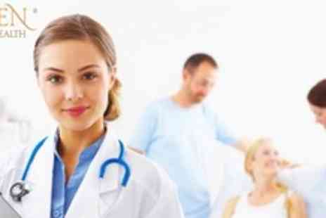 Galen Health - Full body medical assessment including GP consultation and blood test - Save 76%
