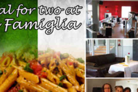 La Famiglia - A better than half price Italian meal for two at Birmingham�s La Famiglia restaurant for just £19.99 - Save 63%