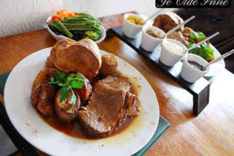 Ye Olde Inne - Three Course Sunday Lunch for Two - Save 63%