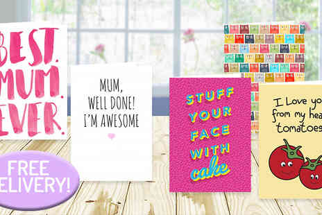 Choosey - Personalised Greeting Cards With Free Delivery- Save 50%