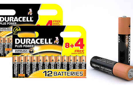 Tech-Tronics - 12, 24, 36 or 60 Duracell AA or AAA Pack - Save 60%