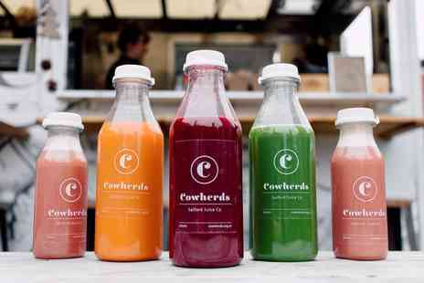 Salford Juice Company - Three day juice cleanse Plus Delivery Included  - Save 0%