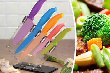 Jean Patrique - Five piece multi coloured culinary set  - Save 94%