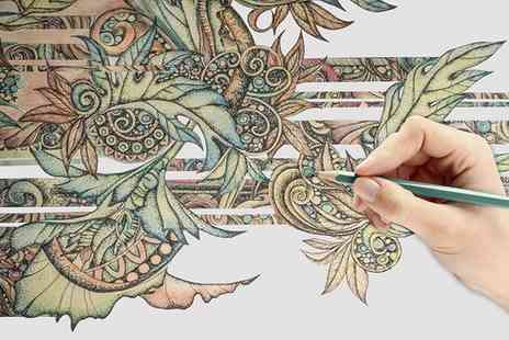 Creative Colouring Course - Online Adult Colouring Course with Optional Workbook  - Save 94%