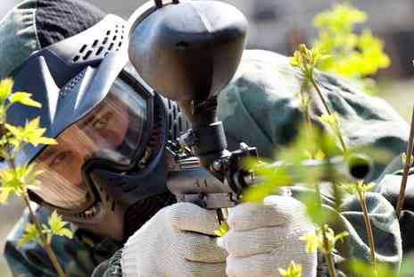 Paintball South - Paintball For Up to 20 People With 100 Paintballs Each and Lunch  - Save 80%