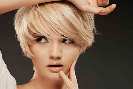 Extravaganza - Wash, Cut, Blow Dry, Condition and Half Head of Highlights  - Save 64%