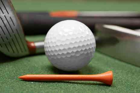 Affordable Indoor Golf - Up to Five One Hour Indoor PGA Golf Lessons for One or Two  - Save 67%