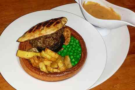 The Chestnut Horse Inn - Giant Yorkshire Pudding Filler with Wine or Beer for Two, Four or Six  - Save 0%