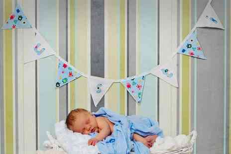 Ben West Photography - Newborn Photoshoot with Prints  - Save 0%