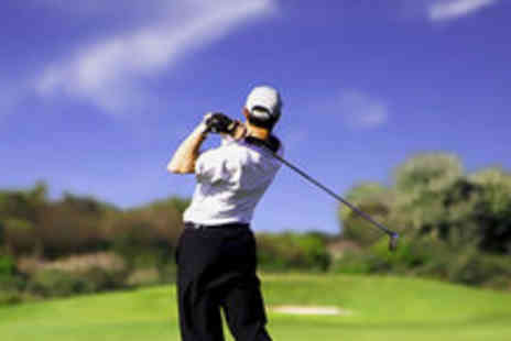 Mearns Castle Golf Academy -Full day of golfing - Save 96%