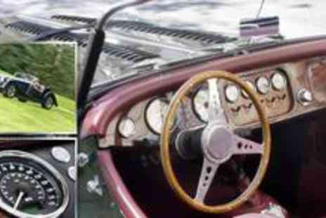 The Hotel on The Park - Full day classic Morgan sports car driving experience - Save 60%